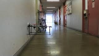 神戸高専、壁面に張り付くドローン開発−トンネル打音検査に威力(動画あり)