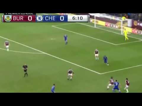 اهداف مباراة تشيلسي وبرنلي 1 - 1 HD