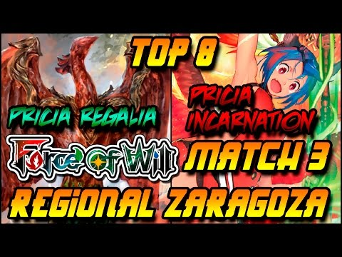 Force of Will  Zaragoza Regional GP TOP 8 Game 3