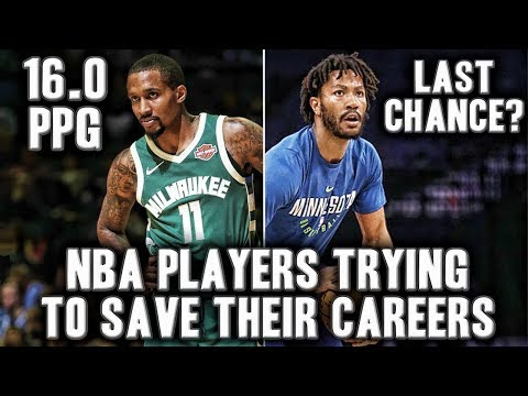 3 NBA Players Trying To Save Their Careers | Brandon Jennings Is Back?