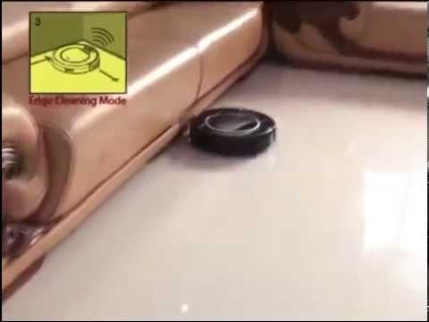 Видео Робот-пылесос PANDA X500 с таймером