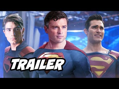 Crisis On Infinite Earths Official Trailer - Superman, Batman, The Flash Breakdown