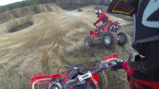 Video ATV QUAD RIDING  HONDA TRX 450R MP3, 3GP, MP4, WEBM, AVI, FLV Juni 2017