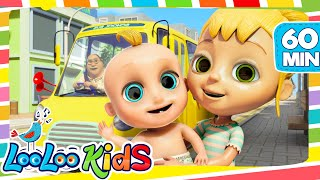 Video The Wheels On The Bus - Cool Songs for Children | LooLoo Kids MP3, 3GP, MP4, WEBM, AVI, FLV Juni 2019
