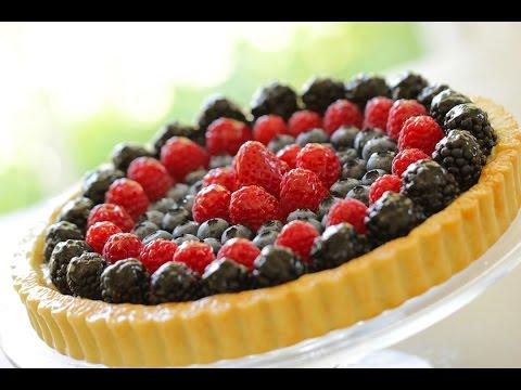 Beth's Homemade Fruit Tart Recipe | ENTERTAINING WITH BETH