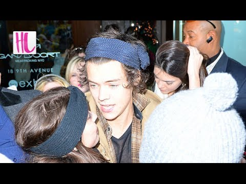 Styles - Harry Styles and Kendall Jenner stay in the same NYC hotel after while One Direction was performing on Saturday Night Live. Subscribe! http://bit.ly/10cQZ5j ...