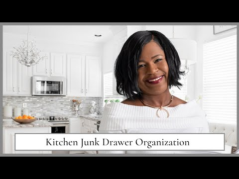 How To Organize Your Kitchen Junk Drawer | Home Organizing Tips