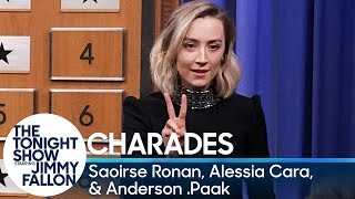Video Charades with Saoirse Ronan, Alessia Cara and Anderson .Paak MP3, 3GP, MP4, WEBM, AVI, FLV Mei 2019