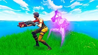 WIN BY BEING INVISIBLE ALL GAME in Fortnite Battle Royale