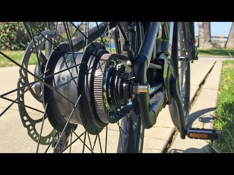 Moustache - Enviolo NuVinci CVP Hub Review, Stepless Continuously Variable Planetary Transmission for Bikes