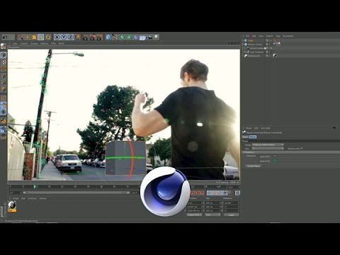 PixelBump - Tutorial 35 - Camera Tracking In Cinema 4D