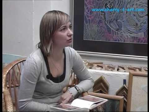 Художник Татьяна Черевань - Live репортаж зима 2008 (часть1)
