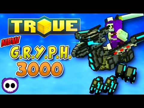 HOW TO DEFEAT FLAMOTRON MK II & CRAFT G.R.Y.P.H. 3000 MOUNT IN TROVE (видео)