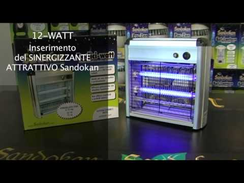 Sandokan Cattura Zanzare e Zanzare Tigre 12-Watt