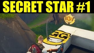 Get FREE Battle Pass Tier Season 4 Week 1 Hidden Battlestar Location (Secret blockbuster #1)