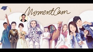 MomentCam Cartoons & Stickers Видео YouTube