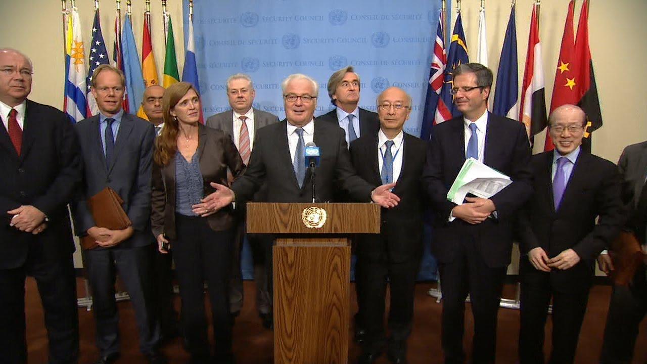 Виталий Чуркин — о фаворите на пост следующего Генсека ООН