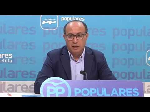 """El Barkani presenta la ponencia """"Melilla y su Futuro"""""""
