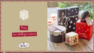 Download Lagu Tuto vidéo : réaliser de jolis emballages cadeau pour Noël Mp3