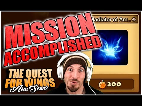 MISSION FUDGING ACCOMPLISHED!!! (Summoners War: The Quest For Wings Ep.9)