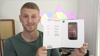 Here's a first look at the brand new Moto E4! This model is on Verizon, however an unlocked model will be coming soon as well. Subscribe for more: https://go...
