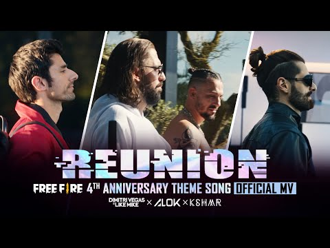Alok, Dimitri Vegas & Like Mike, KSHMR – Reunion (Free Fire 4th Anniversary Theme Song) Free Fire NA
