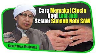 Video Cara Memakai Cincin Bagi Laki-laki Sesuai Sunnah Nabi SAW - Buya Yahya Menjawab MP3, 3GP, MP4, WEBM, AVI, FLV November 2018