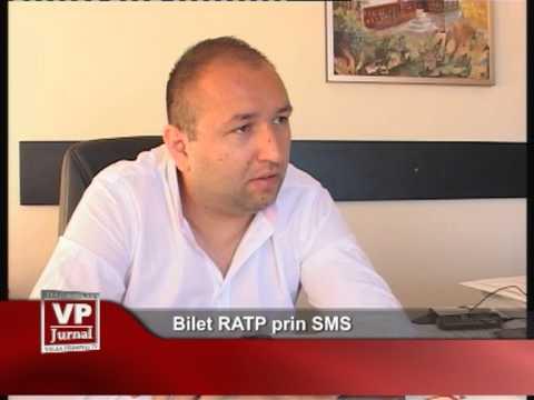 Bilet RATP prin SMS