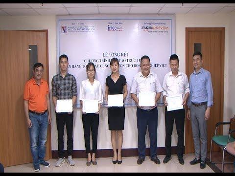 Cục XTTM trao giấy chứng nhận khóa đào tạo bán hàng cùng Amazon