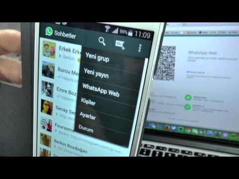 Bilgisayardan WhatsApp – Web WhatsApp