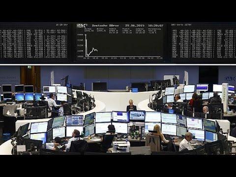 Στο «κόκκινο» τα χρηματιστήρια λόγω Ελλάδας – economy