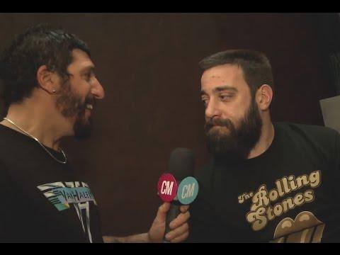 Las Pastillas del Abuelo video Entrevista CM - Lanzamiento Paradojas