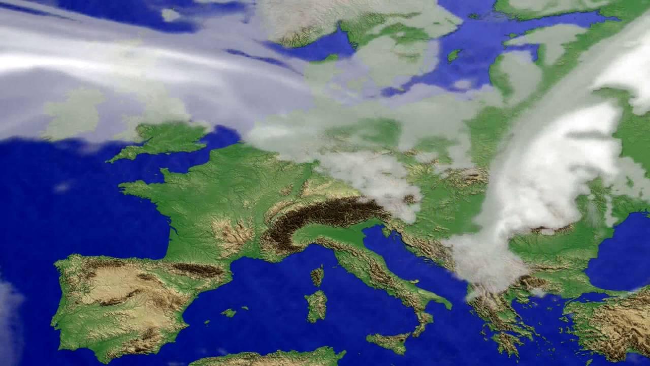 Cloud forecast Europe 2016-07-14