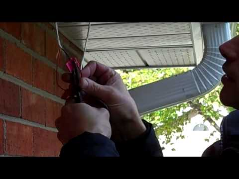 Wiring A LED Recessed Soffit Light