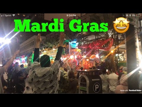 Mardi Gras 2018 | New Orleans & Fat Tuesday