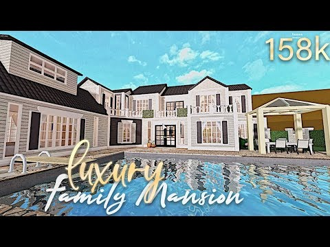 Bloxburg: Luxury vacation family mansion 154k (20K SPECIAL)