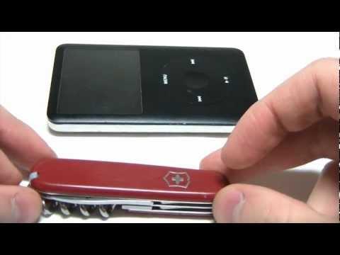 Комментрии к разборке iPod Classic