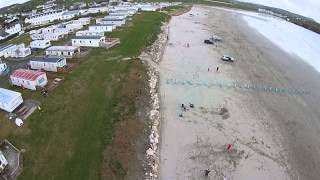Downings Ireland  City pictures : Quadcopter over beach Downings Donegal