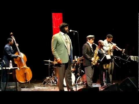 On My Way to Harlem - Gregory Porter Septet in On My Way To Harlem - Teatro Mancinelli - Umbria Jazz Winter #20 - Orvieto Gregory Porter vocals, Chip Crawford piano, Aaron James b...