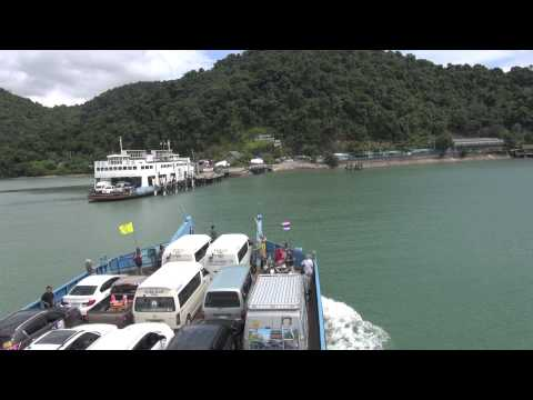 From Trat to koh Chang by ferry