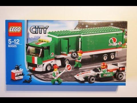 Конструктор LEGO City 60025 Грузовик Гран При
