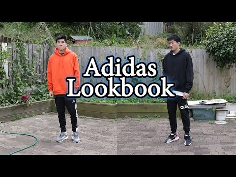 Cozy Outfits with Adidas Pants and Sneakers (Iniki and EQT)