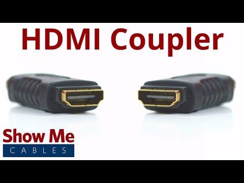 HDMI Female to HDMI Female Coupler #3607