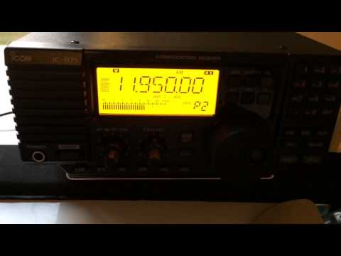 New Receiver iCom R75 and New Longwire Antenna