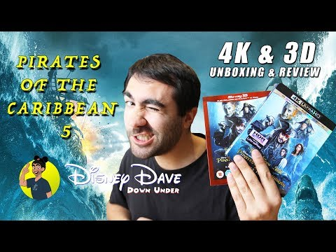 PIRATES OF THE CARIBBEAN: DEAD MEN TELL NO TALES / SALAZAR'S REVENGE 4K & 3D Blu-ray Unboxing