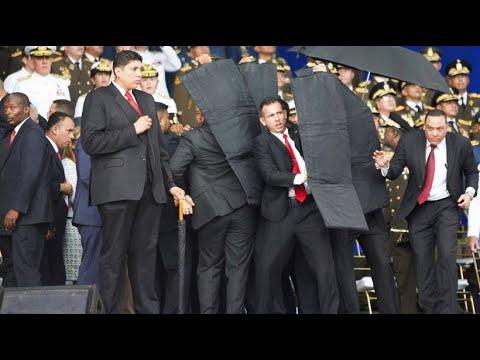 Venezuela: Präsident Maduro entgeht nur knapp einem B ...
