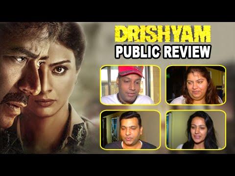Drishyam Public Review | Ajay Devgn, Tabu, Shriya