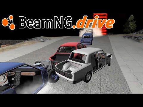 10 CAR DEMOLITION DERBY RACE! Custom Destruction Racing Scenario – BeamNG.Drive Gameplay Highlights