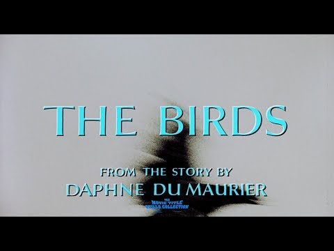 The Birds (1963) title sequence