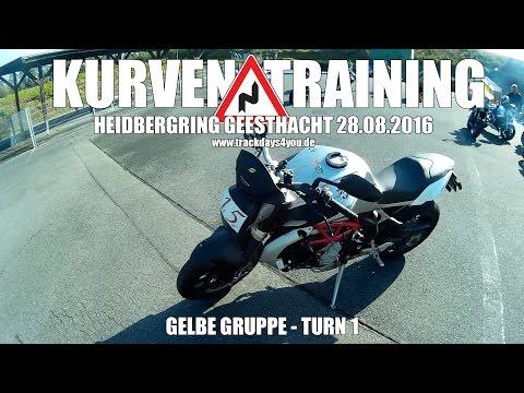 Heidbergring 28.08.16, gelbe Gruppe, Turn 1